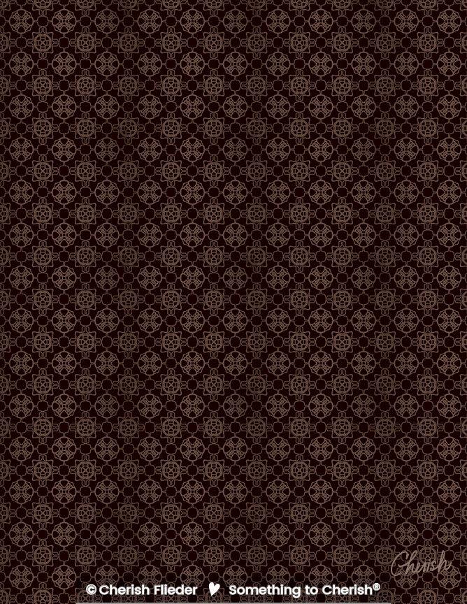 Christmas C1320-03 Hot Chocolate Christmas Pattern © Cherish Flieder