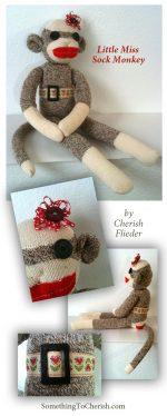 Sock Monkey Designer Blog Hop Challenge