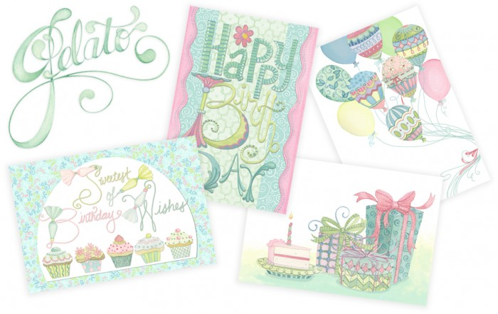 Gelato Card Line Sampling Nicole Tamarin
