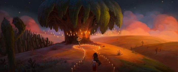 Book of Life Color Concept Illustration by Paul Sullivan and Larry Kresek