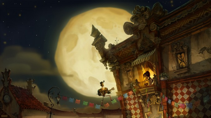 Book of Life Movie Concept Illustration by Art Director Paul Sullivan © 2014 TWENTIETH CENTURY FOX