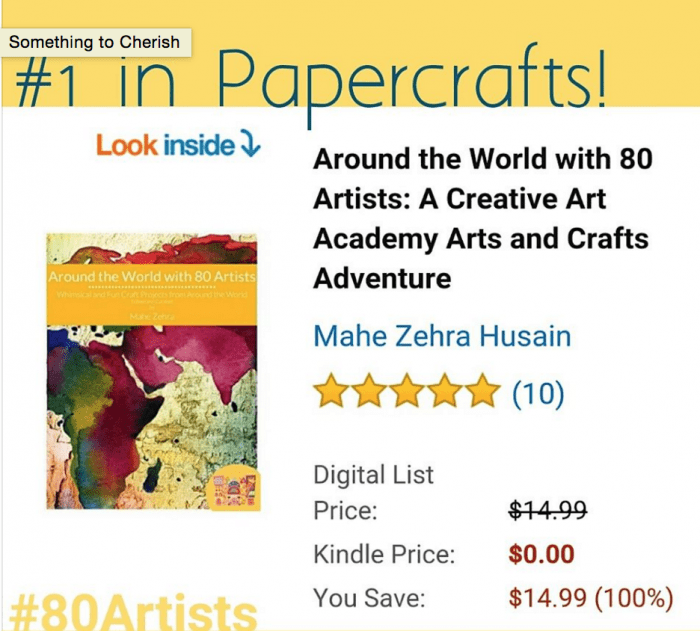 number 1 in papercrafts