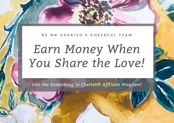 Join Cherish's Affiliate Program